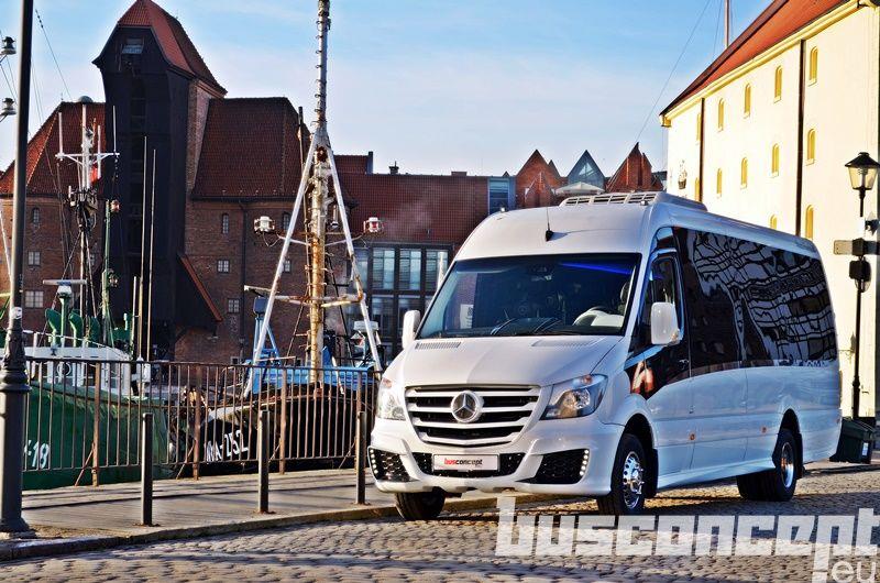 MERCEDES-BENZ Sprinter 519 XXL 19+1+1 Liner +Fridge minibus de passager