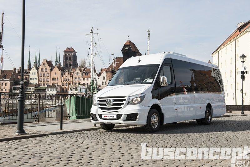MERCEDES-BENZ Sprinter 519 XXL 19+1+1 Panorama minibus de passager neuf