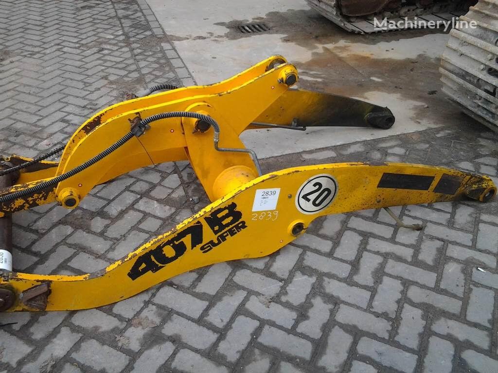 attache rapide pour JCB 407BZX chargeur sur pneus