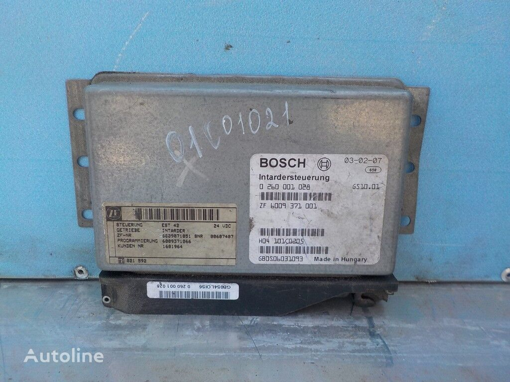 Blok elektronnyy Volvo boîte de commande pour camion