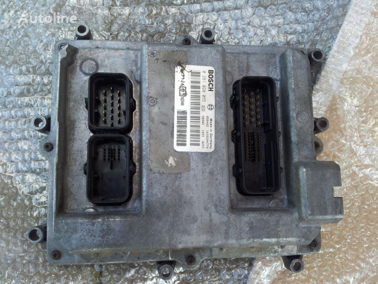 MAN Common Rail EDC, ECU electronic diesel control 0281020055, D2066LF01, 51258037126, 51258337169, 51258037127, 51258337168 boîte de commande pour MAN TGA tracteur routier