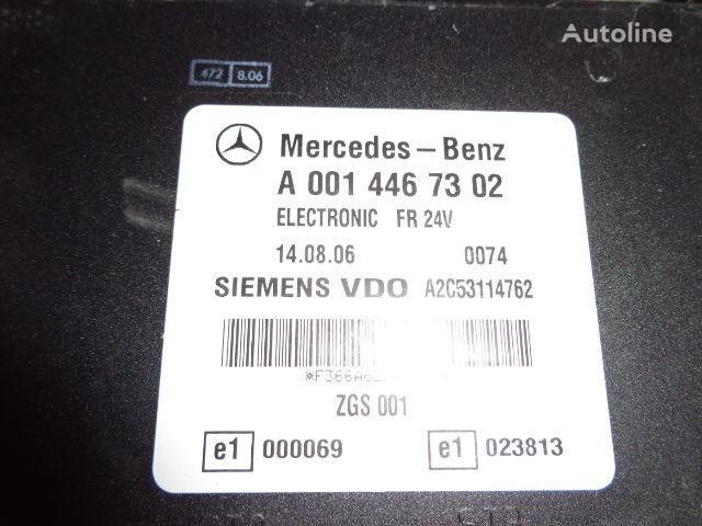 Mercedes Benz Actros MP2, MP3, MP4, FR control unit ECU 0014467302, 0014467302, 0004467502, 0014461002, 0014467402, 0004467602, 0004469602, 0014461302, 0014461402, 0014462602, 0014467002, 0014461902, 0014464102, 0014464002, 0024460102, 0014465402, 0024460 boîte de commande pour MERCEDES-BENZ Actros tracteur routier