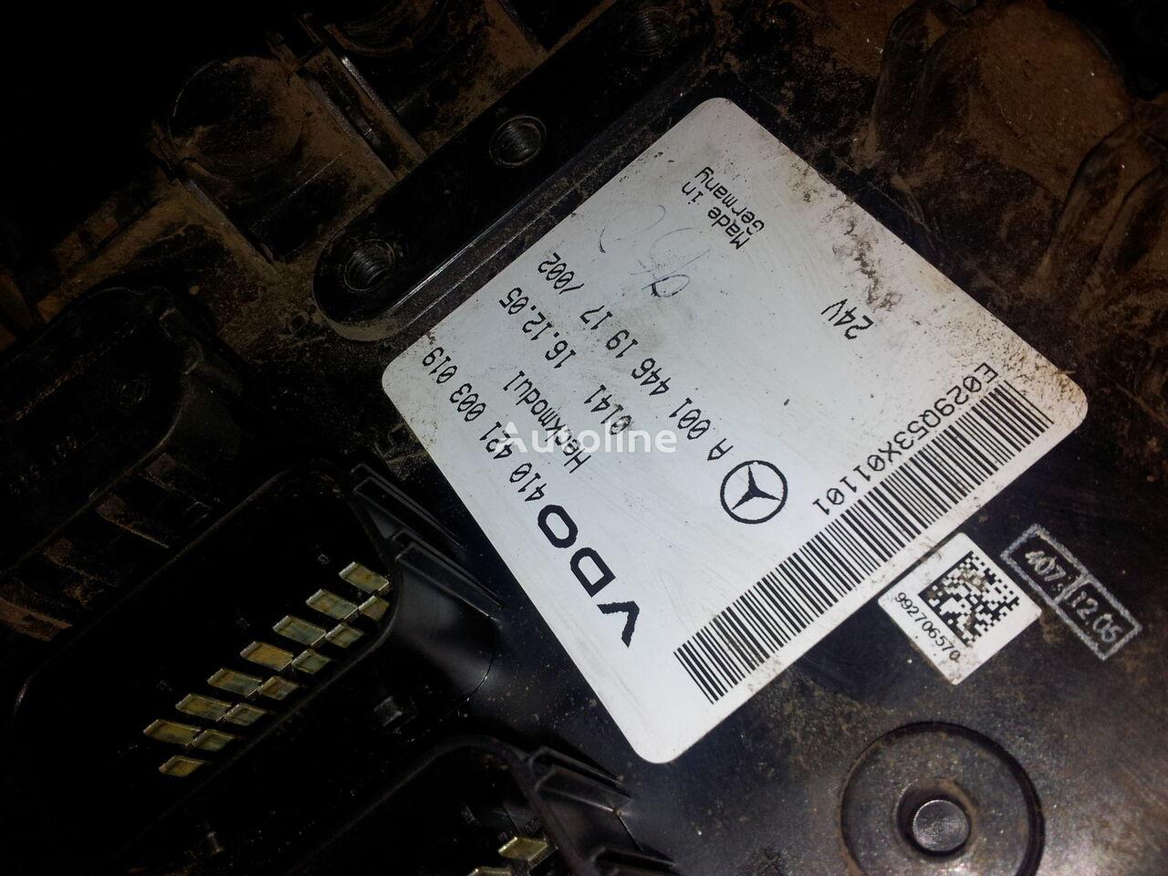 MB Actros MP2, MP3, Heckmodul, control unit, EDC, ECU, rear module electronics, 0014461917, 0014462817, 0014462017,0014461917,0014462717,0014461617, 41021003020, 410421003019, 0014462817 boîte de commande pour MERCEDES-BENZ Actros MP2; MP3 tracteur routier
