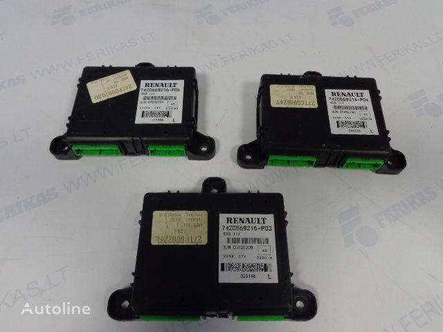ECS control units 7420569216, 7420569216, 7420569216