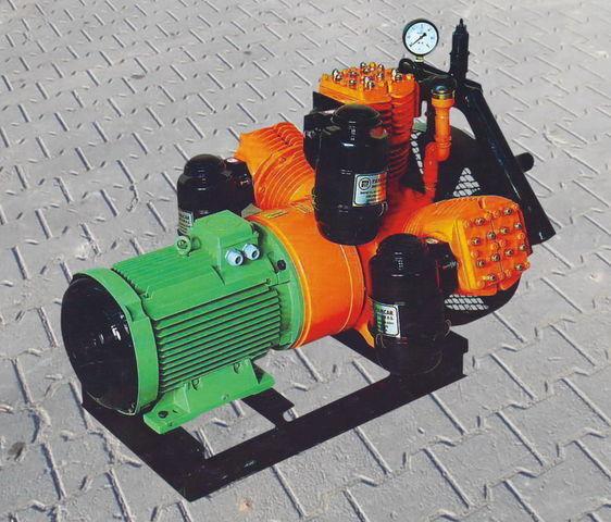 compresseur pneumatique pour V3.16 tłokowy z silnikiem elektrycznym citerne semi-remorque