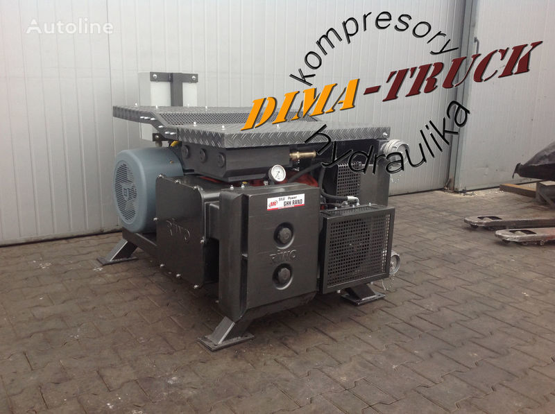 agregat ghh, drum silokompresor compresseur pneumatique pour electric agregat camion