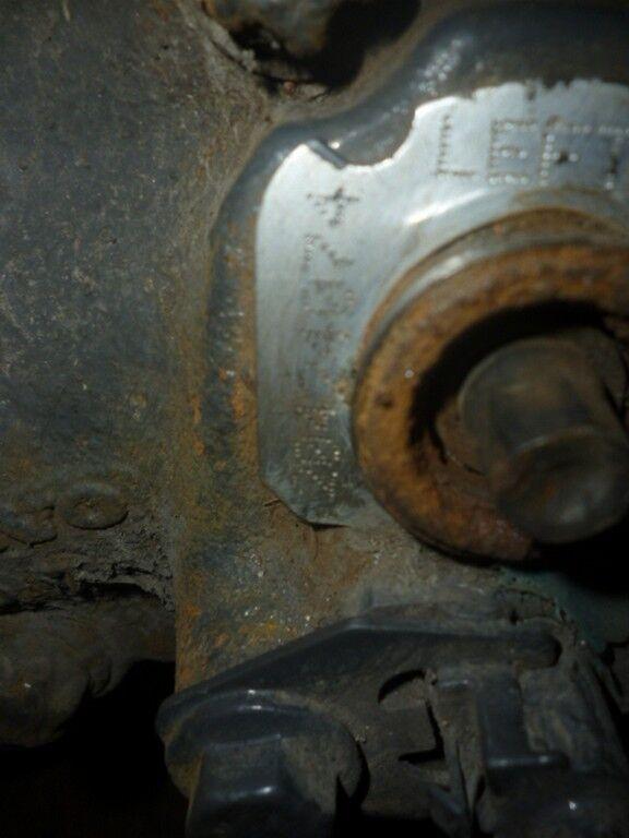 tormoznoy zadniy levyy Volvo etrier de frein pour camion