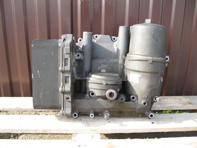 CHŁODNICZKA OLEJU Z PODSTAWĄ filtre à huile pour DAF XF 105 tracteur routier