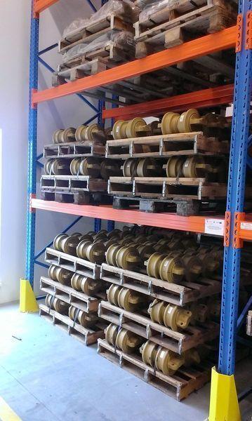 HITACHI cep, napravlyayushchie kolesa galet de roulement pour HITACHI 120,130,135,160,180,200,210,225,240,250,300,330,350 excavateur neuf