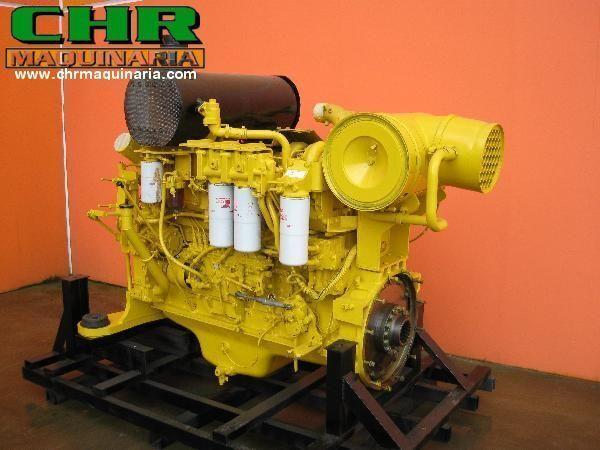 KOMATSU PC750 SAA6D140-E2 moteur pour excavateur