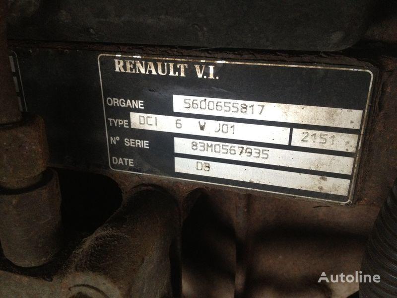 Renault dci 6v j01 moteur pour RENAULT 220.250.270 camion