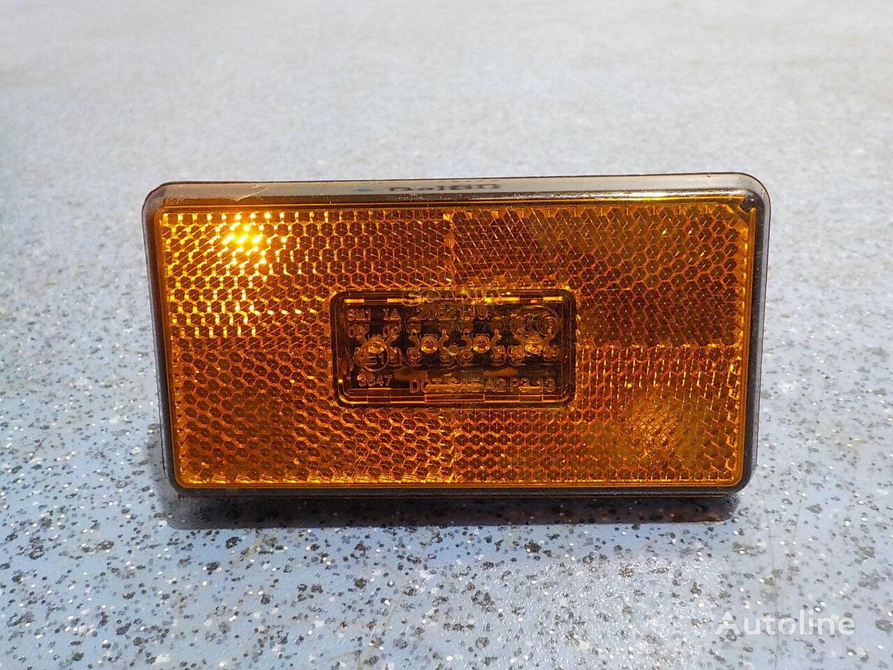 Bokovoy lentochnyy homut L=695 Scania pièces de rechange pour camion
