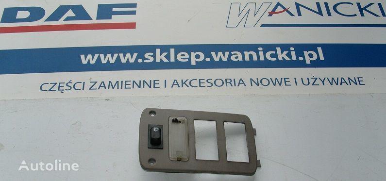 DAF Panel tylny, kontrolka, sterownik ogrzewania WEBASTO, COVER PLATE WEBASTO pièces de rechange pour DAF Cf 65, 75, 85 tracteur routier