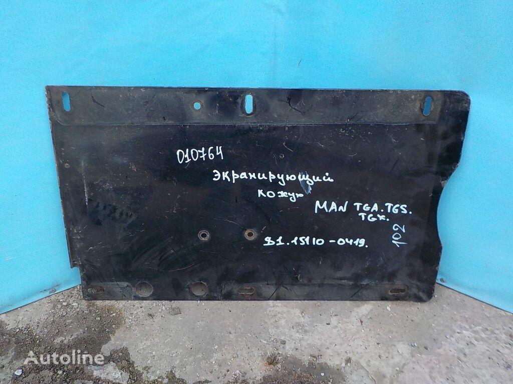 Ekraniruyushchiy kozhuh glushitelya pièces de rechange pour MAN camion