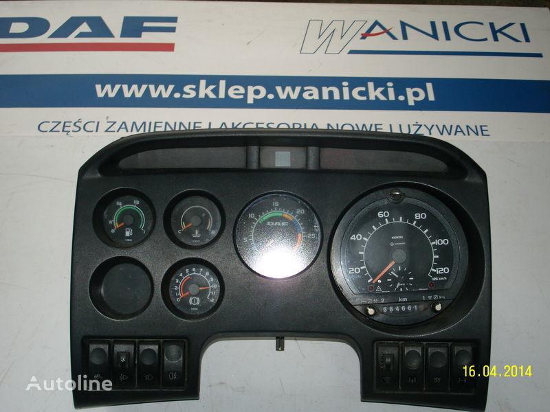 DAF LICZNIKI, ZEGARY , TABLICA PRZYRZĄDÓW,Instrument panel, front planche de bord pour DAF tracteur routier