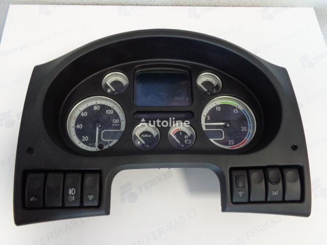 Siemens VDO Automotive AG Instrument cluster 1743496, 1605300, 1605301, 1699396, 1699397 (DELIVERY WORLDWIDE) planche de bord pour DAF 105 XF tracteur routier