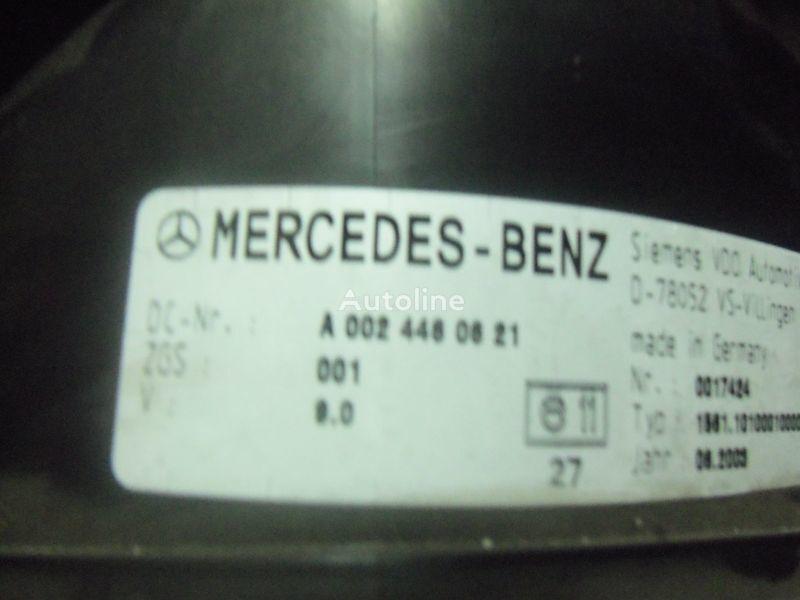 Mercedes Benz Actros MP2, MP3, MP4, INS electronic instrument panel 0024461321 cluster, 0024464321, 0024467421, 0024469921, 0034460521, 0044460621, 0044461821, 0014467021, 0024460721, 0024461421, 0024464421, 0024467521, 0034460021, 0034460621, 0044461921, planche de bord pour MERCEDES-BENZ Actros tracteur routier