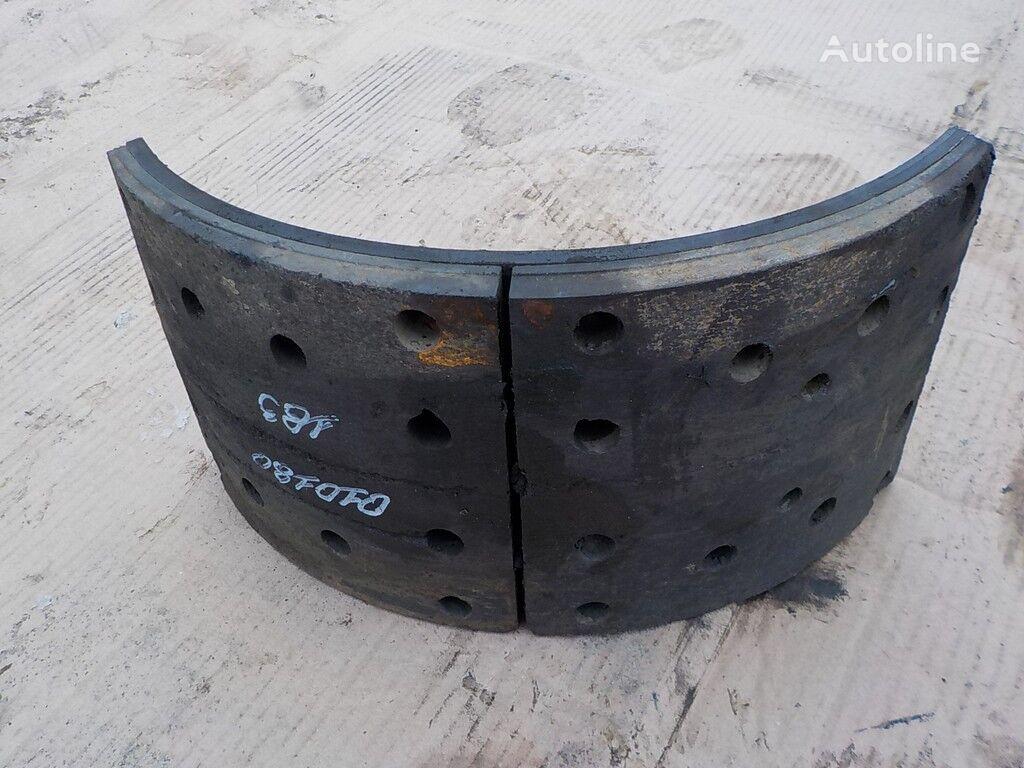 Iveco plaquettes de frein pour camion