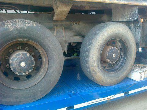Niemcy 6x4 8x4 pont pour MAN 26-403 camion