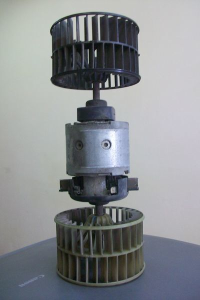 Motor pechki radiateur du four pour DAF XF,CF tracteur routier