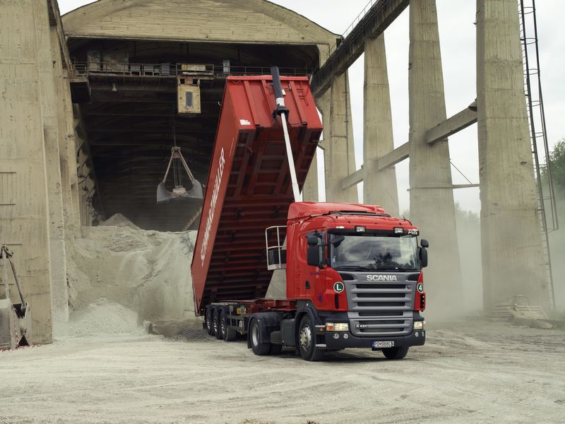 système du tombereau pour tracteur routier neuf