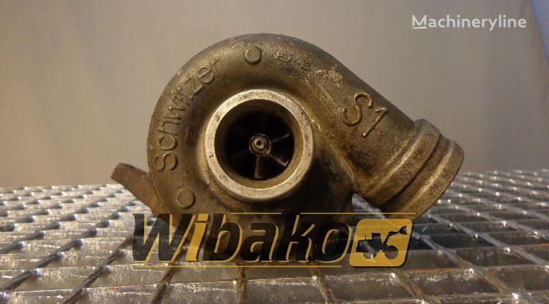 Turbocharger Schwitzer 6185010F turbocompresseur pour 6185010F (07B03-0989) excavateur