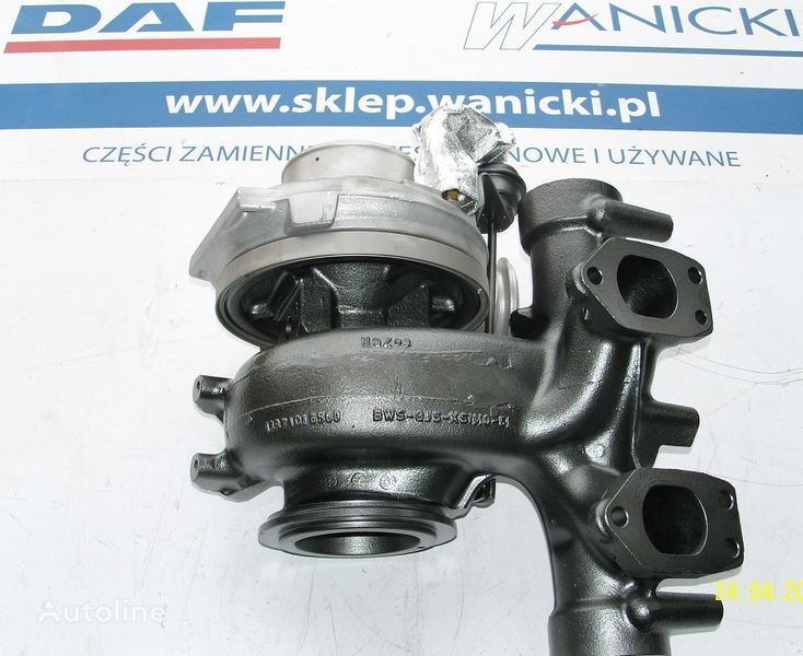 DAF TURBO TURBINA,REGENEROWANA, Turbocharger, EURO 5, turbocompresseur pour DAF  XF 105, CF 85  tracteur routier
