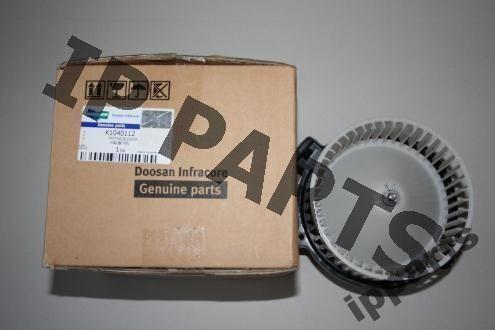 ventilateur de refroidissement pour DOOSAN wentylator 2538-6015 K1040112 nawiew excavateur