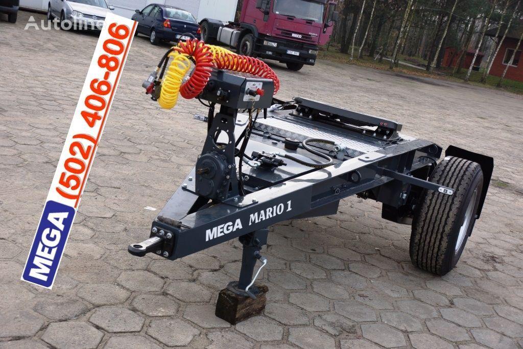 MEGA 1 Achse Dolly fur Kipper / Hydraulik Pumpe / FERTIG  remorque dolly neuf