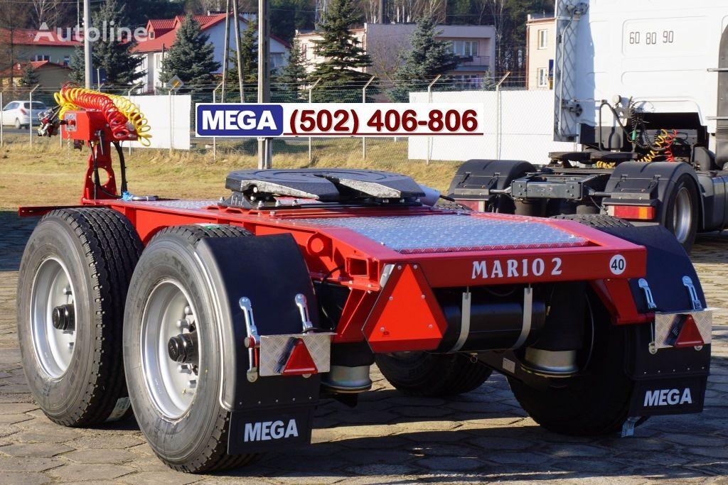 MEGA 2 AXLES / DOLLY TRAILER MARIO 2 -! NOW ! EU COC & REGISTRATION ! remorque dolly neuf