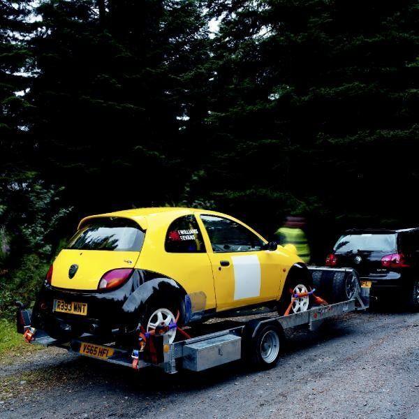 Vente Des Remorques Porte-voitures IFOR Williams CT136