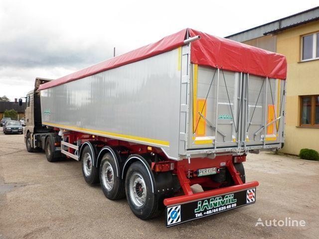 JANMIL 50 cbm ALU, SAF -LIGHT 5800 kg !!! Semi-remorque benne neuf