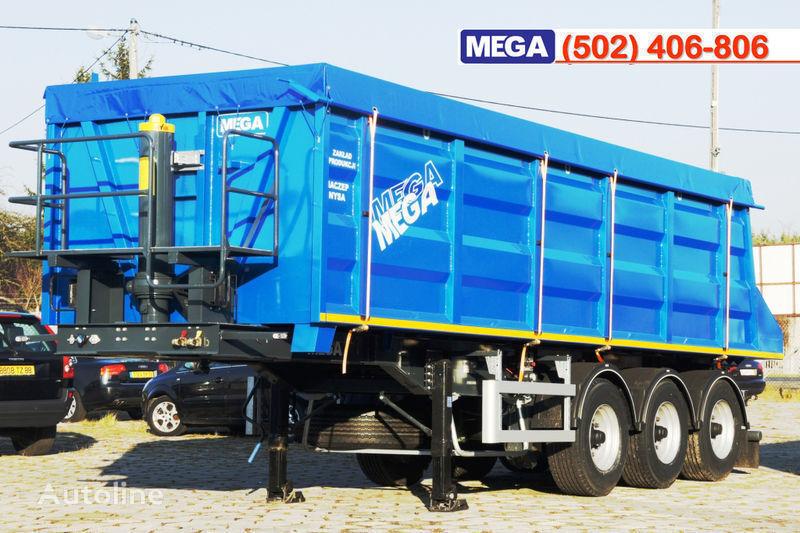 MEGA 35/9200 kcc - camosval 35 kub.m., pama k tyagachu 6x4, klapan! Semi-remorque benne neuf