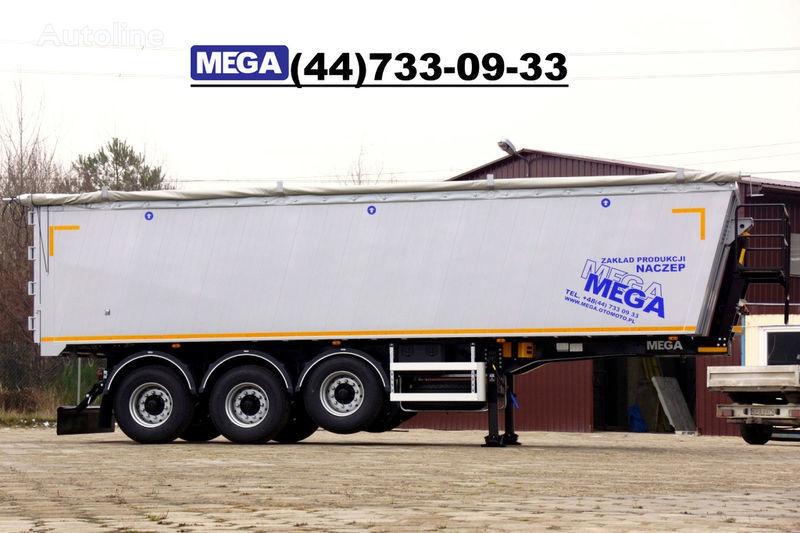 MEGA 39/8360KD- camosval 39 kbm, alyuminievyy, klapan-dverey GOTOV! Semi-remorque benne neuf