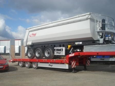FLIEGL SDS 470 T semi-remorque porte-engins