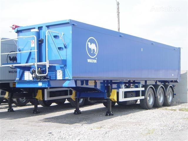 WIELTON NW - 3 (50m3) semi-remorque transport de céréales neuve