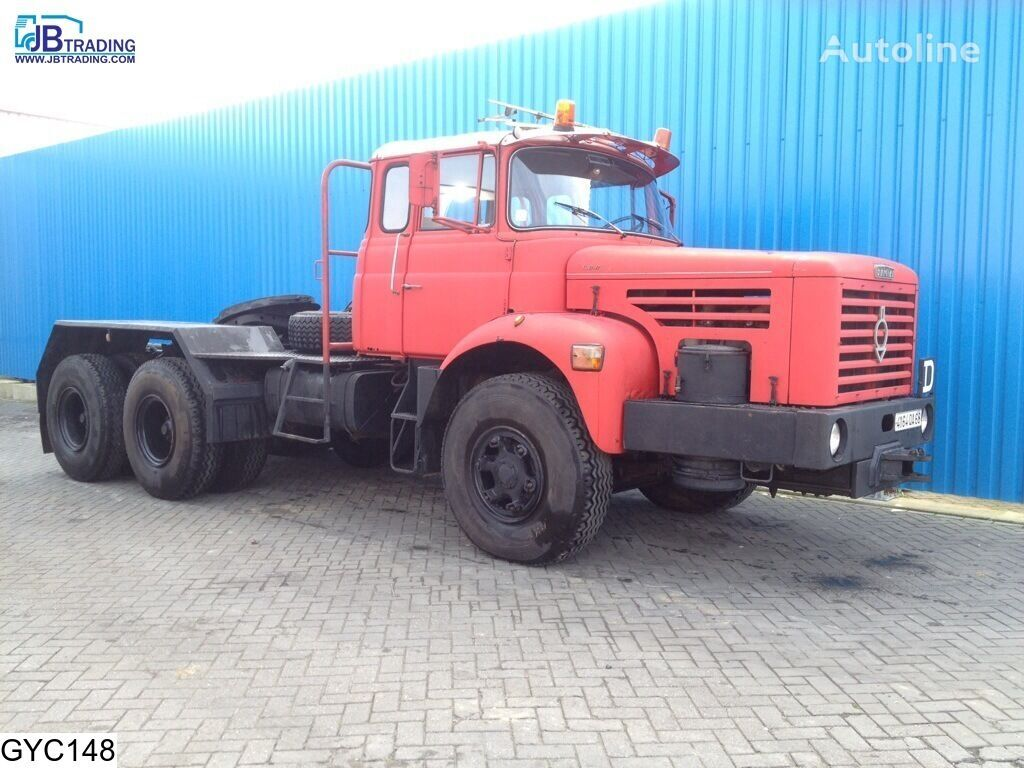 BERLIET TBO , Manual, Steel suspension, Naafreductie tracteur routier