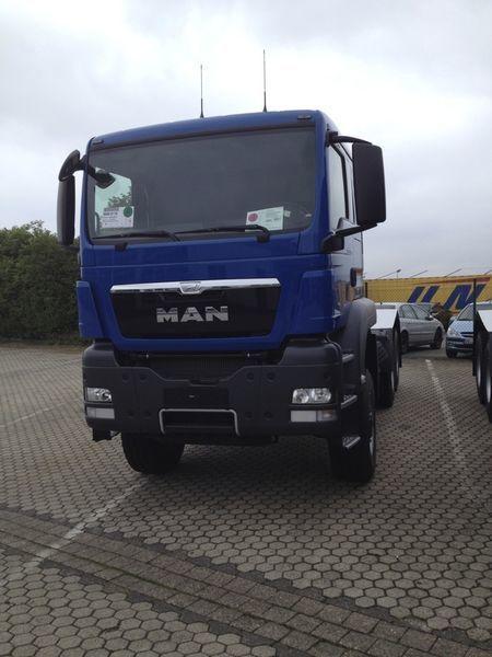 MAN TGS 33.480, 6x6, EUR 3 tracteur routier neuf