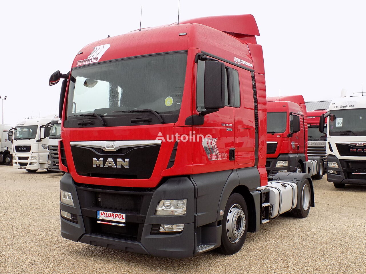 MAN TGX 18.440 EURO 6 - LOVDECK - AUTOMAT - ALL NEW !! tracteur routier