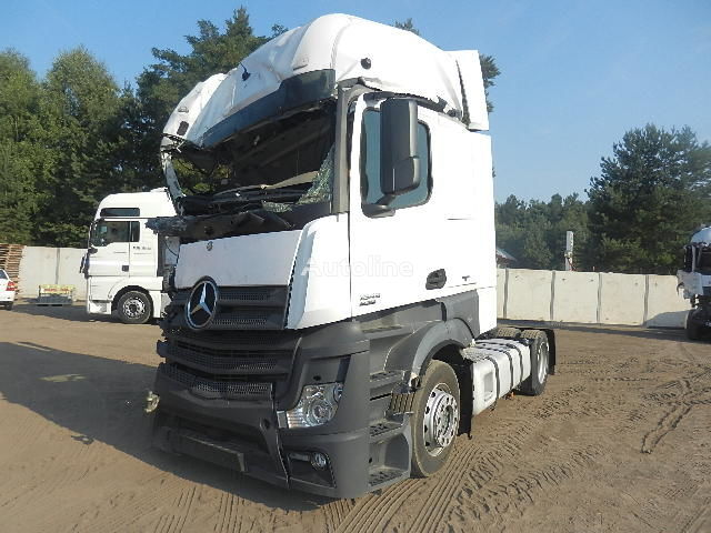 MERCEDES-BENZ ACTROS 1845 MP4 2012r. MEGA LOW DECK tracteur routier après accident