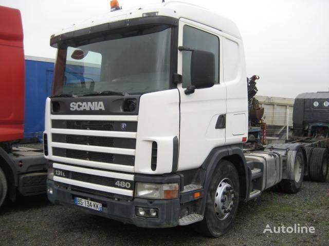 SCANIA L 114L380 tracteur routier