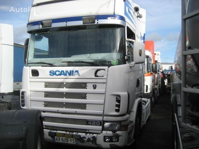 SCANIA L 124L420 tracteur routier